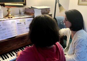 Piano instructor