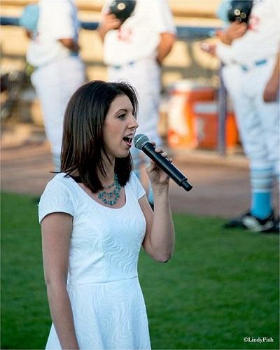 National Anthem Singer